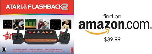 Find Atari Flashback 2 on Amazon.com