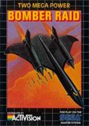 Bomber Raid Master System Cover