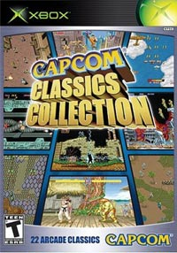 Capcom Classics Collection Cover