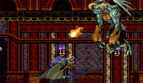 Castlevania: SOTN Screenshot