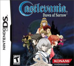 Castlevania Dawn of Sorrow DS Cover