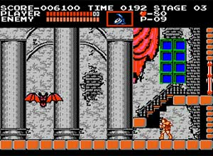 Castlevania NES Screenshot