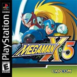 Mega Man X5 Cover