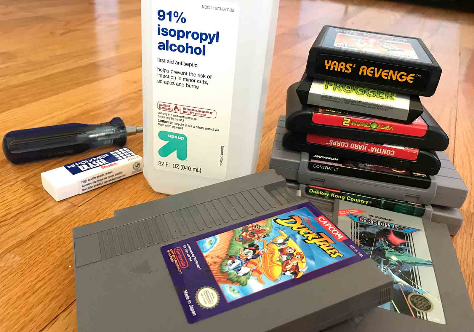 Game Cart Contact Cleaning Guide The Right Way Retrogaming With How Do I Choose Best Circuit Board Cleaner Picture This In Mind It Might Be Good To Set Aside Some Time Routine Batches Save You Over Long Run