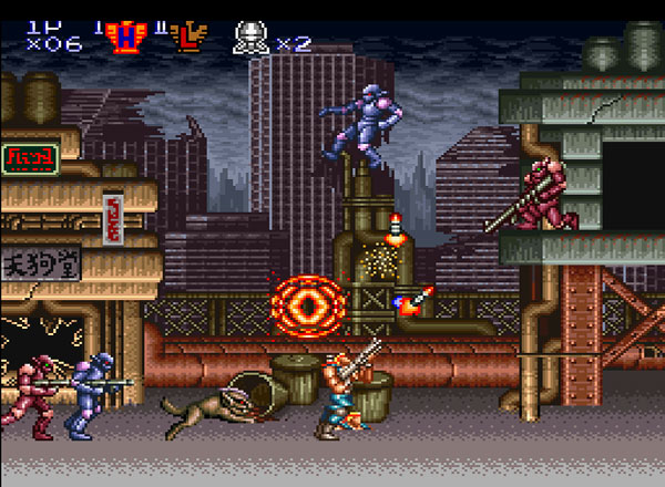 Contra III: The Alien Wars / Super Probotector