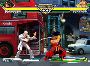 Capcom vs SNK EO XBox Screenshot