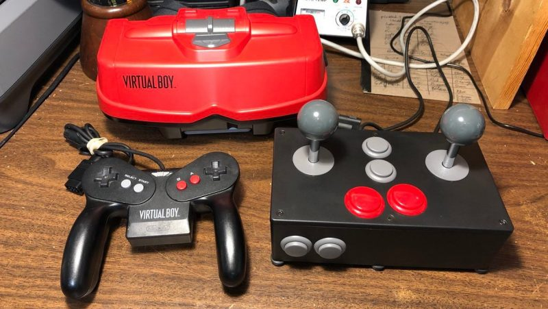 Virtual Boy Custom Joystick