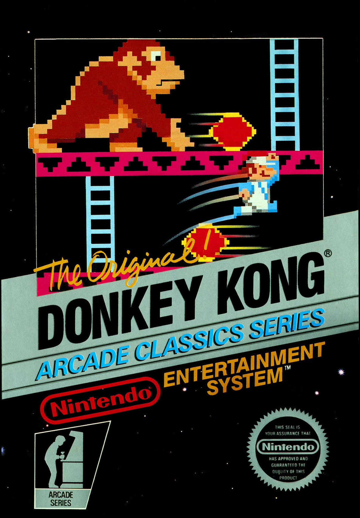 donkey kong the original game