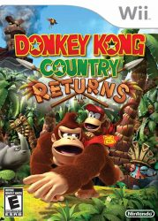 Wii Donkey Kong Country Returns Cover