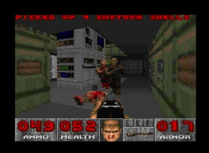 DOOM SNES Screenshot