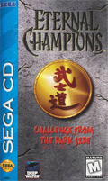 Eternal Champions Sega CD Cover