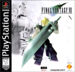 Final Fantasy VII Cover Art