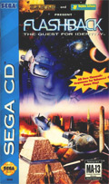 Flashback Sega CD Cover