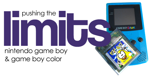 Pushing the Limits of the Game Boy and Game Boy Color