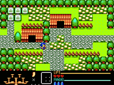 Golden Axe Warrior Screenshot