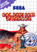 Golden Axe Warrior Master System Cover