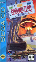 Ground Zero Texas Sega CD Cover