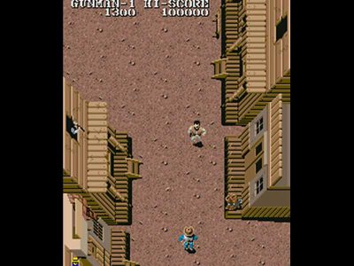 Capcom Generation 4 - Gunsmoke Screenshot