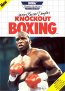 James Buster Douglas Master System Cover
