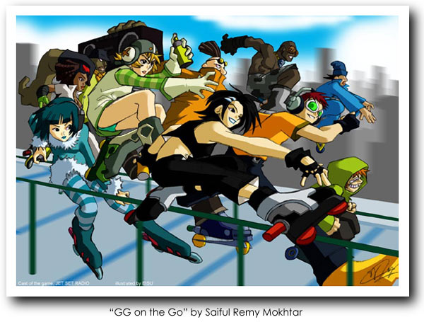 Jet Set Radio Future Art 08