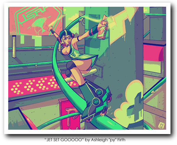 Jet Grind Radio Art 09