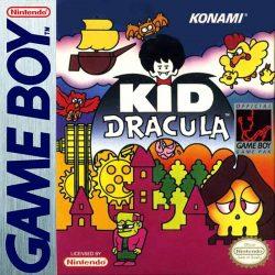 Kid Dracula Gameboy Box