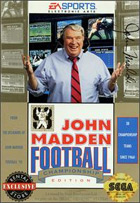 John Madden Football Championship Edition