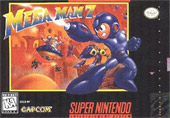 Mega Man 7 Cover Art