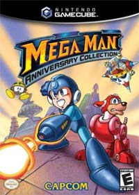 Mega Man Anniversary Collection Cover