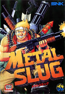 Metal Slug Japanese Cover