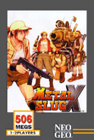Metal Slug X Cover