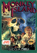 Monkey Island Sega CD Cover