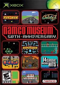 Namco Museum 50th Cover