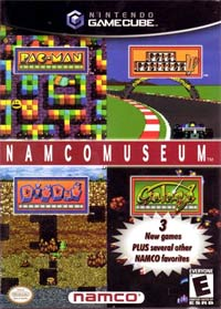 Namco Museum Cover