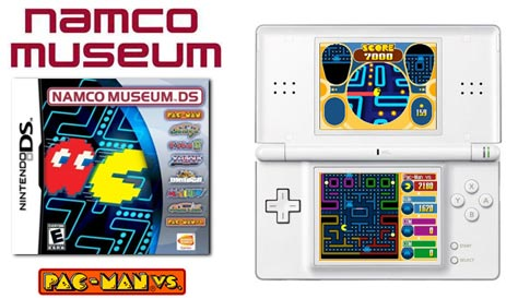 Review of Namco Museum DS with Pac-Man VS