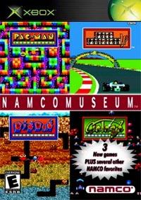 Namco Museum Cover
