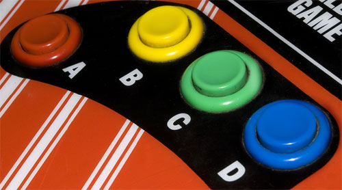 Neo-Geo MVS Buttons