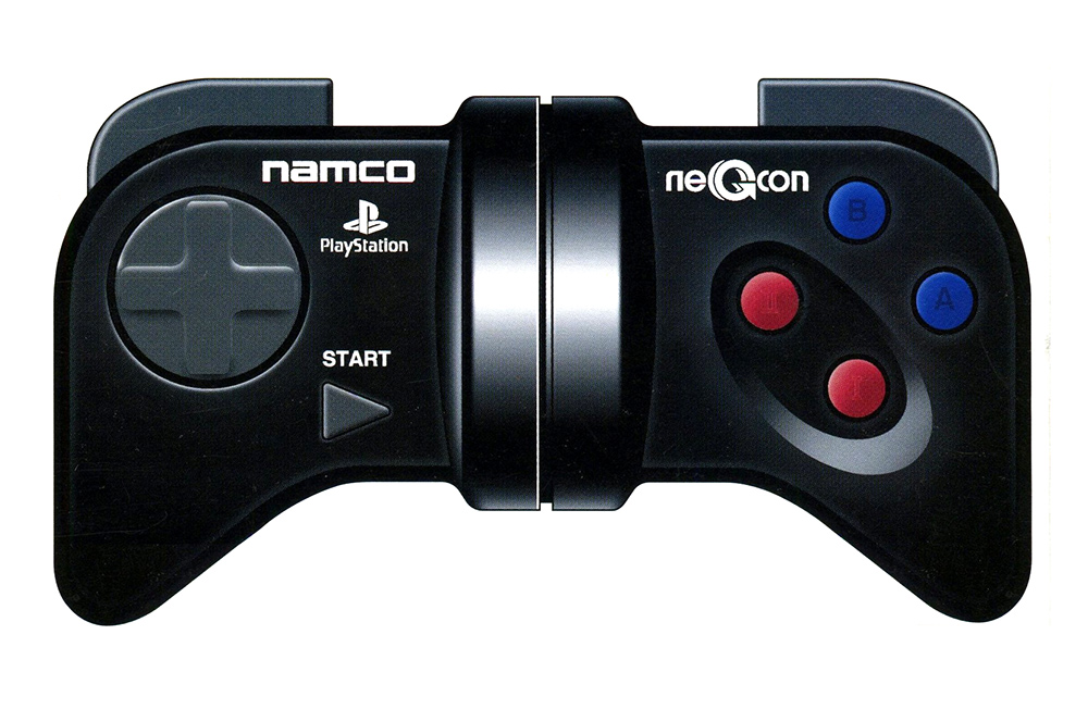 The Namco neGcon and the Playstation Games Supported - RetroGaming with  Racketboy