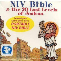 NIV Bible and Lost Levels of Joshua Cover