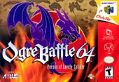 Ogre Battle 64 Cover