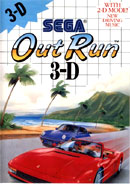 Out Run 3D Master System Cover