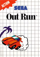Out Run Master System Cover