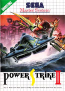 Power Strike II Master System Cover