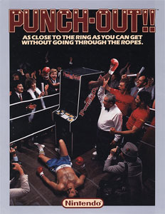 Punch Out Arcade Flyer