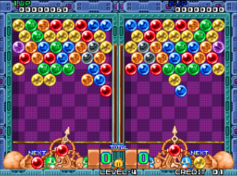online games puzzle bubble