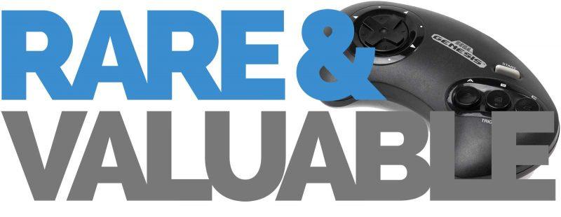 Rare and Valuable Sega Genesis / Megadrive Games