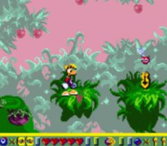Rayman Game Boy Color Screenshot