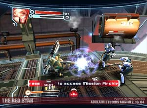 Red Star Ps2 Screenshot