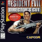 Resident Evil Directors Cut PS1 Cover