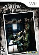 Resident Evil Wii Cover